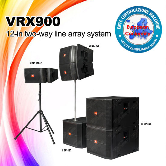 Vrx932la 12inch Line Array Speakers Sound Systems Equipment