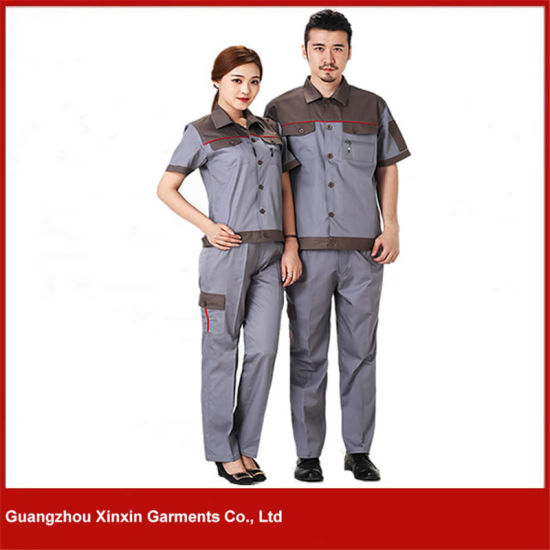 Customized Good Quality Men Women Work Overall Supplier (W22) pictures & photos