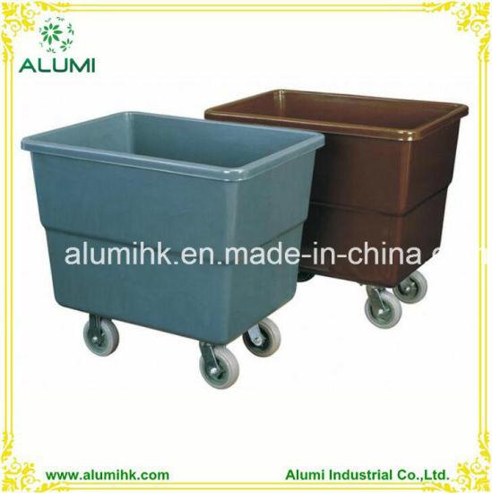 China Hotel Hospital Laundry Cart Clothes Laundry Trolley
