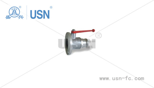 One-Way Round Ball Valve with Stainless Steel Ball Core pictures & photos