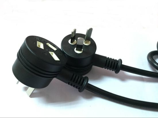 1.5m Black SAA Power Cords Au with Female Socket pictures & photos