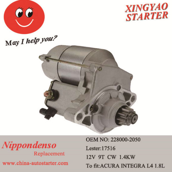 China Car Engine Parts Auto Starter Motor for Sale - China Car ...