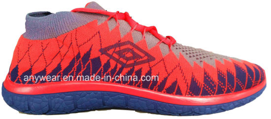 China men outdoor sports flyknit running sneakers (816-6985) pictures & photos