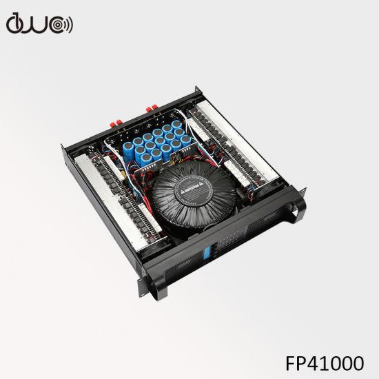 4X1000W 8ohm Class H Stereo Audio Power Amplifier