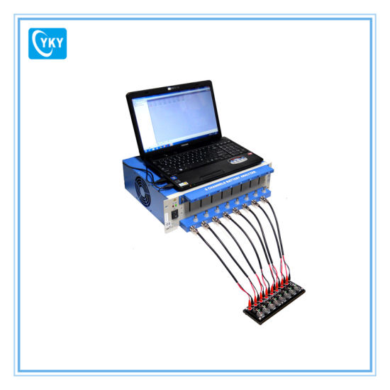 China 8 Channel Battery Charge Discharge Electric Tester With Software China Battery Tester Battery Analyzer