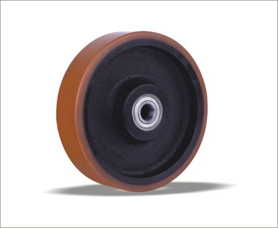 Polyurethane Wheels with Cast Iron Center