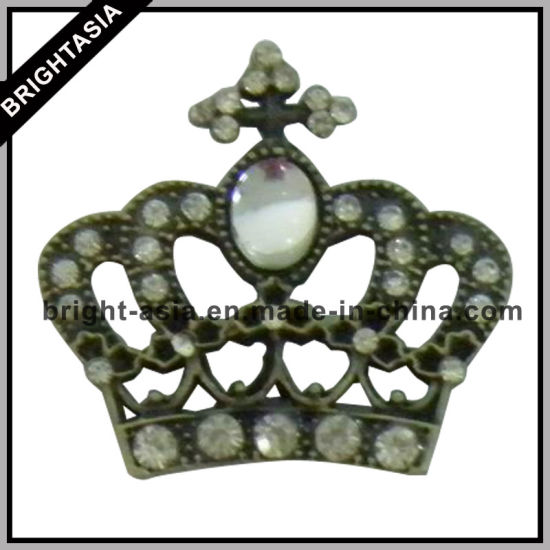 Rhinestone Jewelry Charm Metal Crown for Women Gift (BYH-10419) pictures & photos