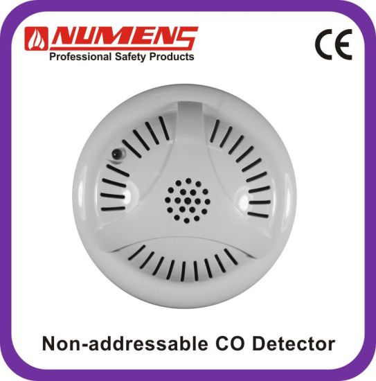 Co Gas Detector, 12/24V, 4-Wire, Sounder, Relay Output (400-003)