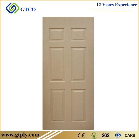 Vinyl / Oak Veneer 6 Panel Hardboard HDF Molded Laminate Door Skin  sc 1 st  Linyi Gaotong Import \u0026 Export Co. Ltd. & China Vinyl / Oak Veneer 6 Panel Hardboard HDF Molded Laminate Door ...