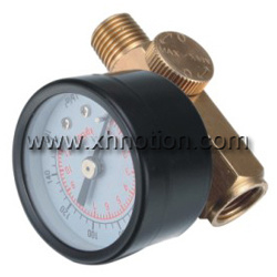 China Miniature Air Regulator With Pressure Gauge China