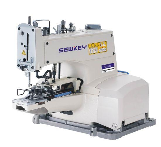 Sk-1377 High Speed Button Attaching Sewing Machine