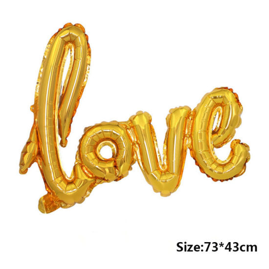 43cm Silver Letter Foil Balloon Birthday Party Balloons