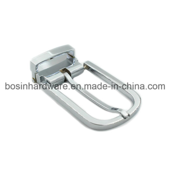 "25mm 1/"" chrome metal clip on pin belt buckle webbing"