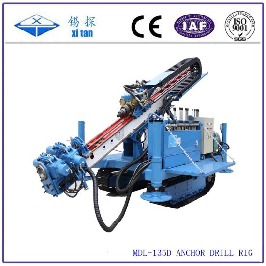 Mdl-135D Anchor Drilling Rig Machine for Engineering Construction Foundation