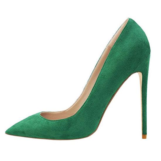 05d22918125 [Hot Item] Fashion Party Wear Pumps Leather Stilettos Girls Ladies Women  High Heel Shoes