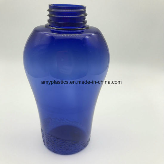 Pretty Vase Shaped Pet Bottle for Shampoo Care Packaging pictures & photos