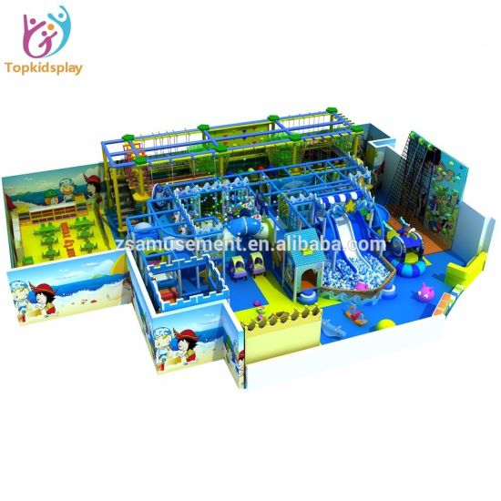 Professional Big Size Puzzle Amusement Space Kids Indoor Playground pictures & photos