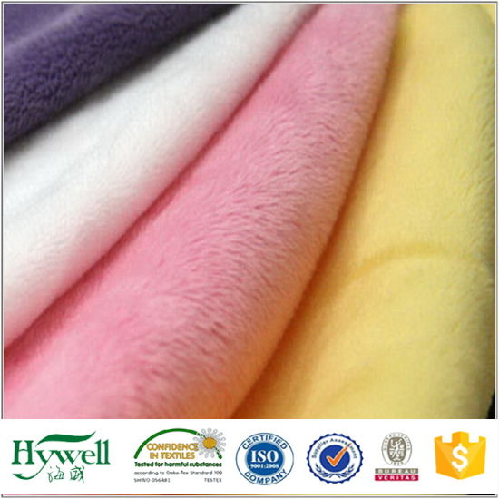 Azo Free Plush Toys Fabric Soft Toys Fur Fabric pictures & photos