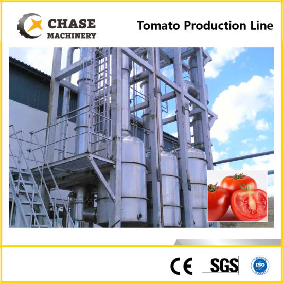 Tomato Paste Processing Machine From Shanghai Chase pictures & photos