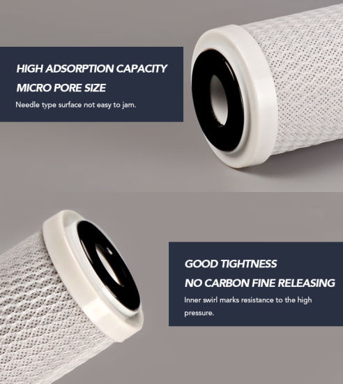 Darlly 0.5 Micron Carbon Block Filter Candle for Food and Beverage