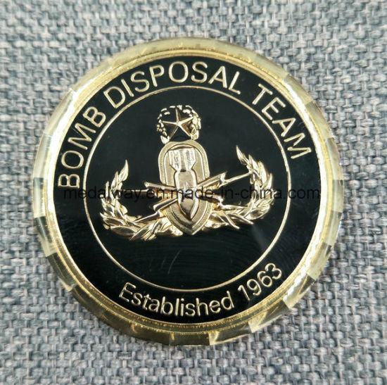 Manufacturer Maker Custom Metal/Antique/Souvenir/Gold/Military/Silver  Police Challenge Coin with Logo No Minimum