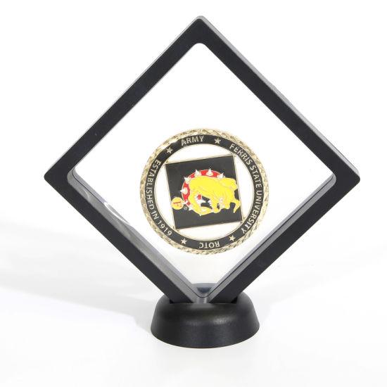 15 Years China Factory Custom Matal Challenge Enamel Gold Souvenir Coins