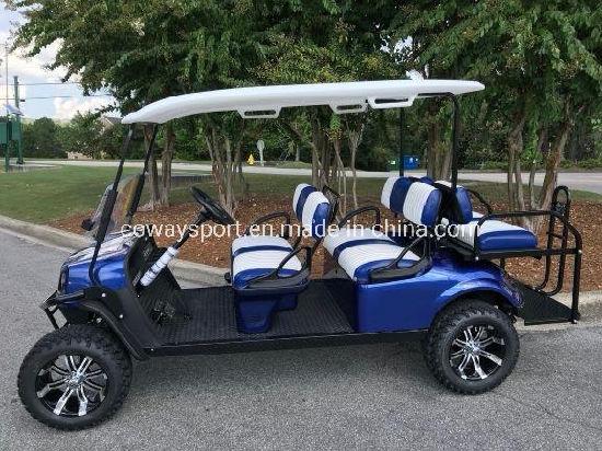 High Quality New Design Ezgo L6 - Electric Blue - Gas Golf Cart