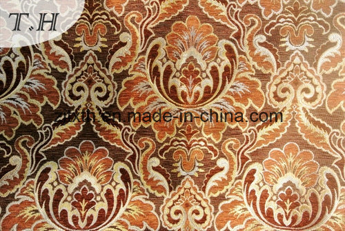 2016 Very Splendid Chenille Large Jacquard Sofa Fabric by 440GSM pictures & photos