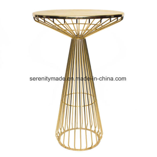 china event furniture stackable gold metal wire cafe bar stool and
