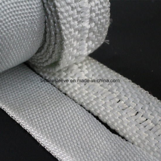 High Temperature Resistant Fireproof Fiber Glass Thermal Insulating Tape