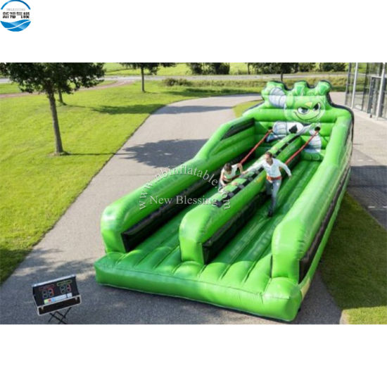 Commercial Inflatable Bungee Run with IPS System for Adults