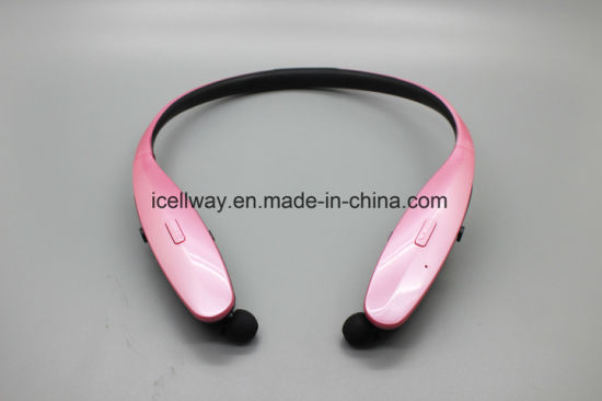 Retractable Bluetooth Headset with CSR Chips, Neckband Wireless Bluetooth Headset Hbs950 pictures & photos