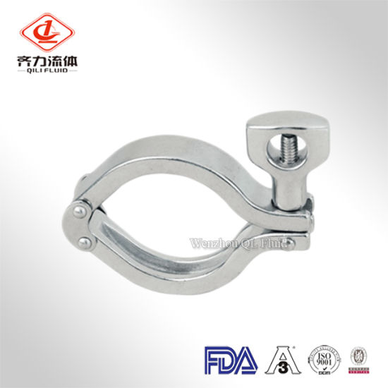 304 316l Stainless Steel Clamps Quick Release Pipe Clamps China