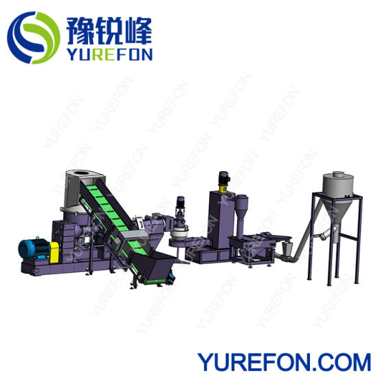 Plastic Soft Scrap PP PE Pelletizing Machine with ISO Ce Certification pictures & photos