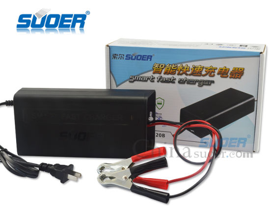 Suoer Intelligent 20A 12V Car Battery Charger (SON-1220B) pictures & photos