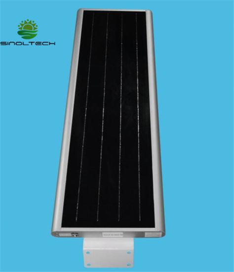APP Control 50W LED Integrated Solar Parking Lot Lighting (SNSTY-250) pictures & photos