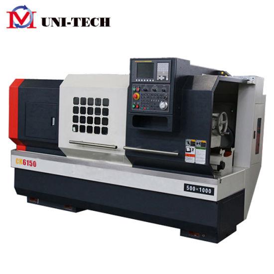 Flat Type Turning Lathe Machine Price Ck6150
