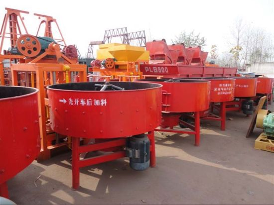 Shengya Jq500 Easy to Operate Concrete Pan Mixer for Sale pictures & photos