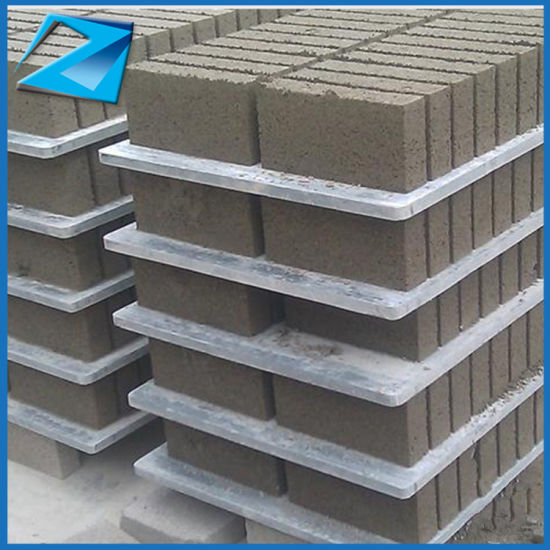 Plastic PVC Pallets Used Clay Brick Making Machine For Sale Bricks