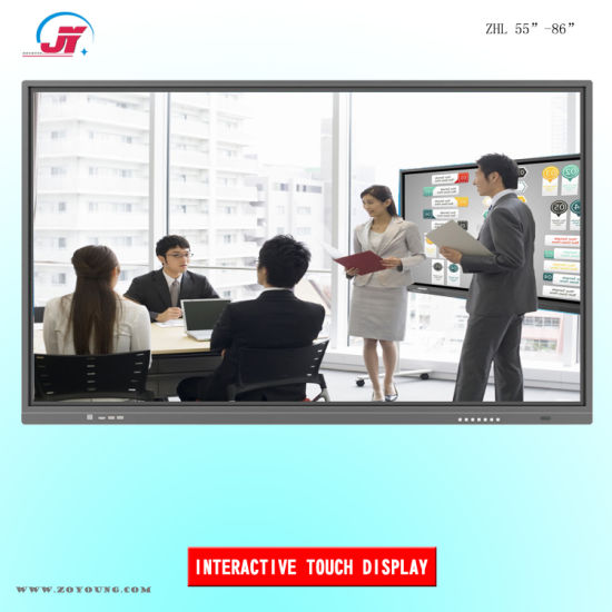 55 65 75 86 98 Inch Interactive Multi Touch Screen Smart TV and Electronic Whiteboard Display for Meeting Conference and Classroom Education (XZMS638)