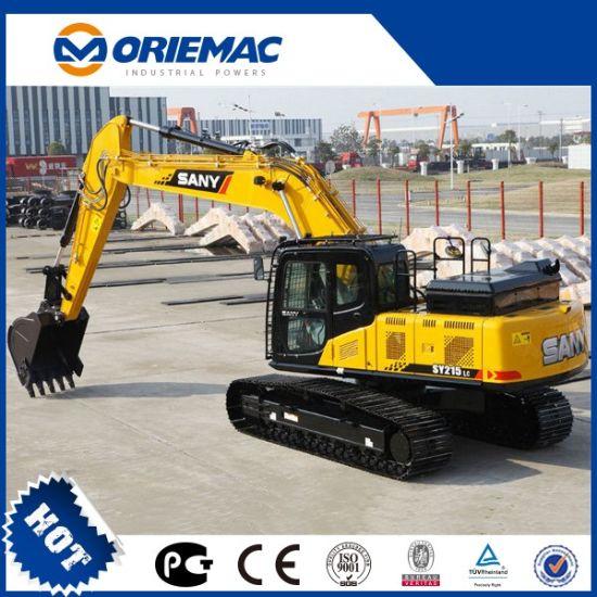 New Sany Crawler Excavator 21ton Sy215c Excavator with Hammer