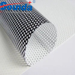Advertising Materials One Way Vision Window Film Perforated Film for Decoration