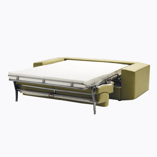 Pull Out Sofa Bed Metal Frame Fireproof