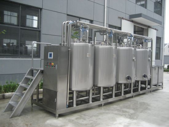 10000L CIP Cleaning Equipment for Liquid Food Processing Line