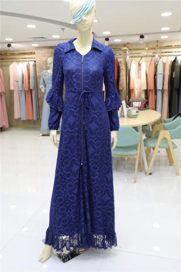 2019 Hot and New Design Wholesale Muslim Islamic Clothing Abaya Ladies Dresses Fashion Blouse