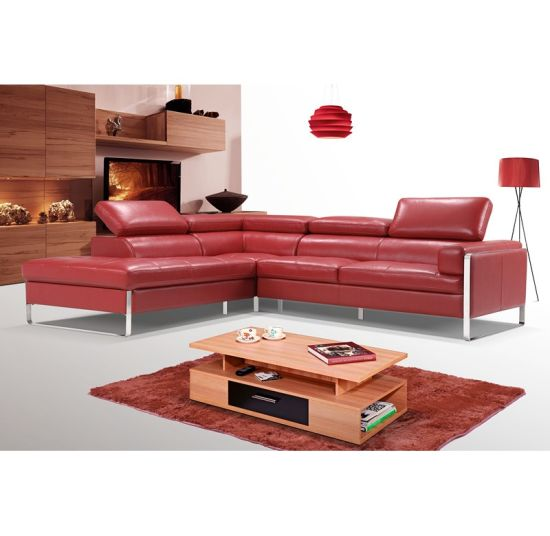 Genuine Leather Sofa Convertible