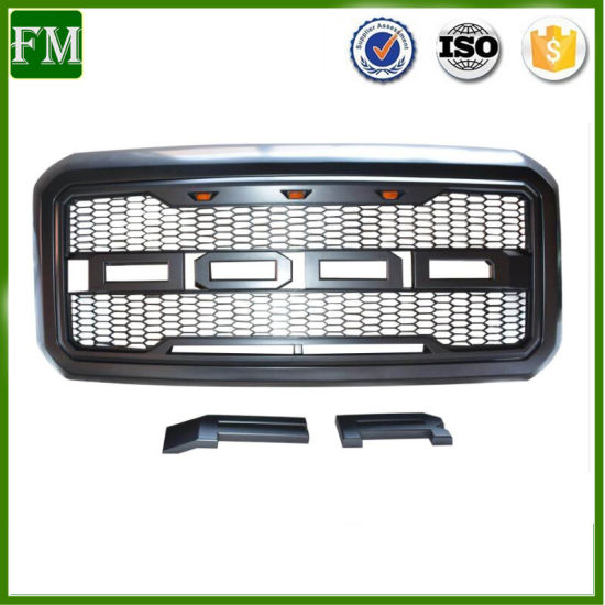 China 2011 2016 Ford F250 F350 Grille Abs Raptor Style China Raptor Style Grille Ford Accessories