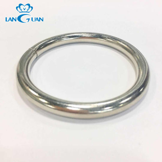 Metal O Ring for Handbag Accessories