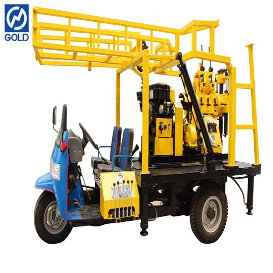 Chinese Supplier′s Water Well Drilling Machine Tricycle Mounted Drilling Rig Prices pictures & photos