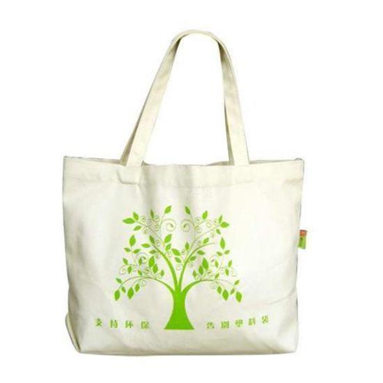 Wholesale Custom Logo Black Canvas Cotton Shopping Tote Bags